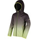 Regatta Anodize Softshell Jacket Kids Black/Lime Zest